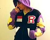 Rei Ryugasaki Fleece Hoodie : Iwatobi Swim Club