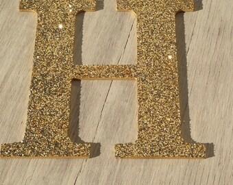 9 decorative gold glitter wall letters wedding decoration christmas holiday decor girls bedroom decor