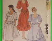 Vintage McCalls Costume Pattern 8447  Size 9