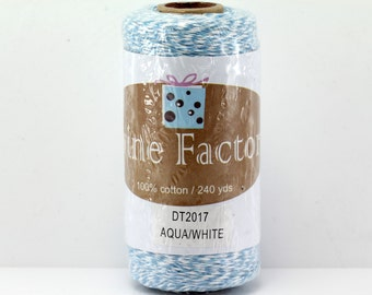Aqua Bakers Twine 240 Yards Full Spool 4 Ply