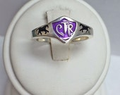 Horse CTR Choose The Right Ring Sterling Silver