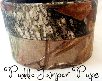 Camo Dog Collars- Mossy Oak & RealTree