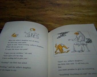Vintage Rumpelstiltskin Childrens Book