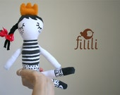 Little Princess Doll, Handmade Doll, Made With Love - Fililishop