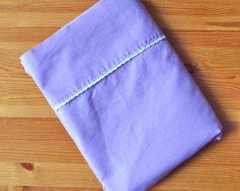Purple Vintage Twin Sheet, Girls Purple Bedding