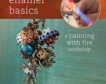 Torch Fired Enamel Basics by Barbara Lewis-DVD- Torch-Firing