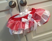 CANDY CANE Ruffle Bloomers