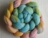 Merino Wool Roving - Hand Painted Felting or Spinning Fiber