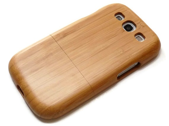 SALE Samsung Galaxy S3 case i9300 / wooden S3 case bamboo wood