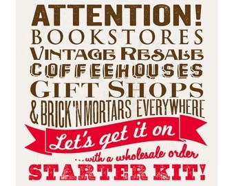 Wholesale Starter Kit - Lot of 20 Dictionary Page Book Art Prints - DPMP020