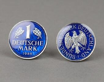 Cufflinks Coins Germany