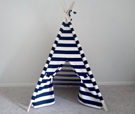 Like this item? & PlayTeepee Black and White Play Tent Kids Teepee Stripe Tent
