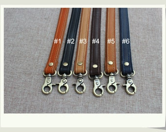 40cm long Webbing Leather Purse Strap