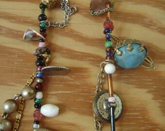 higgledy piggledy assemblage necklace