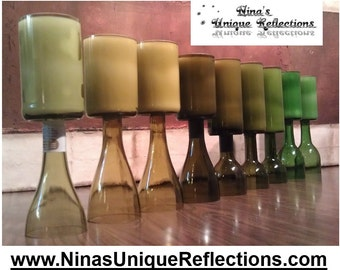 16 oz Scented Wine Bottle Candles  (Customize Your Own: Choose Bottle Color & Scent)