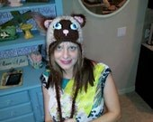 FREE SHIPPING: Made To Order Kitty Hat