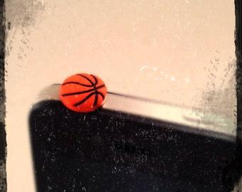Cute Basketball iPhone or iPad Anti-Dust Plug Charm Accessories