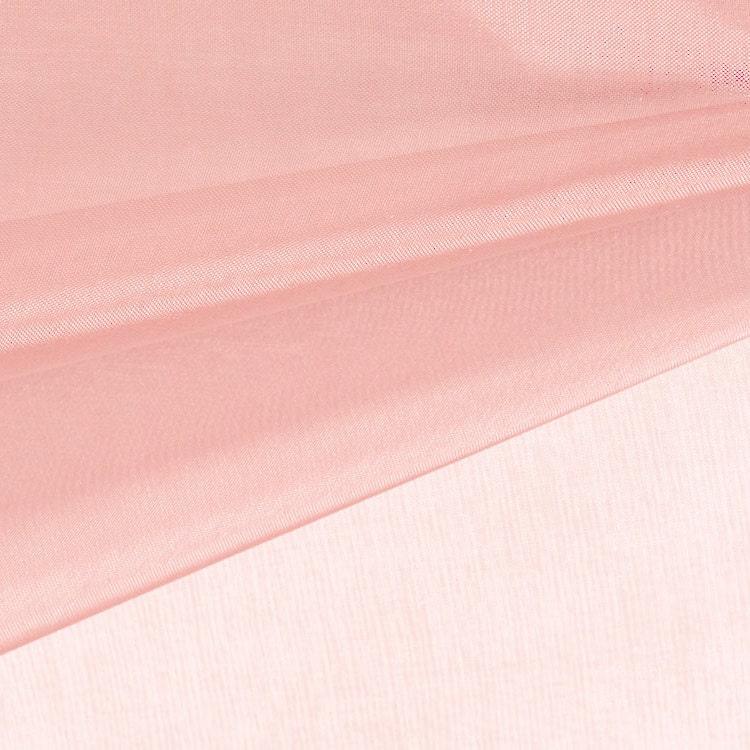 Dusty pink organza fabric by the yard wedding by stylishfabric for Sheer fabric