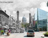 Madison State Street Then & Now