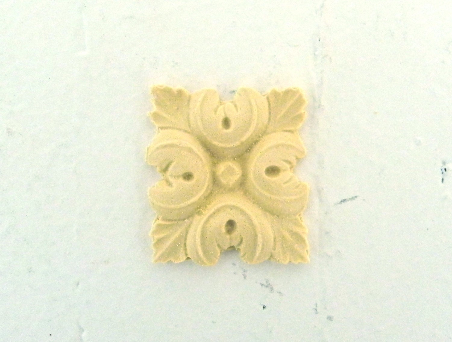Square Rosette Furniture Applique Wood Amp Resin Trims And