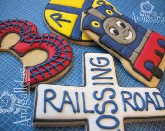 Thomas Train Cookies - 1 dozen