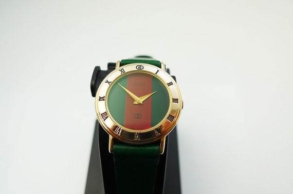 Gucci Gold Plated Ladies Watch Gucci 3000l Ladies Watch Swiss