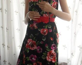 50s style halterneck dress