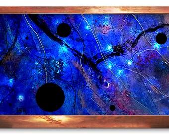 Black Holes Galaxy Wall Fountain