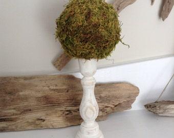Moss Topiary, Topiary, Moss Ball, (1 Small), Table Decor, Outdoor Decor, Garden Topiary