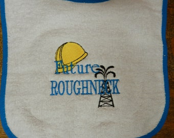 Oilfield Baby Bib Future Roughneck