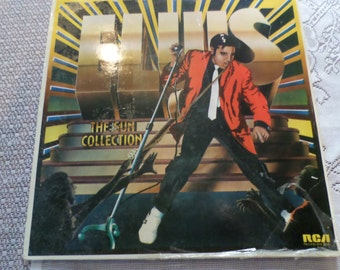 Elvis Sun Collection LP Record
