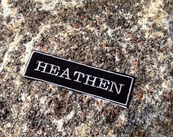 Iron on Heathen Patch