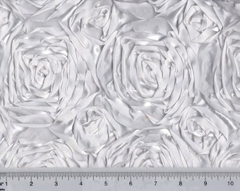"""Special order for NICKOLAS5UKUK rosette satin fabric by yard  54"""" wide (5 yd minimum per color)"""