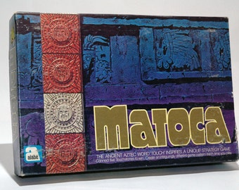 Matoca Ancient Aztec Strategy Game from Alabe 1973 COMPLETE