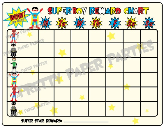 Printable Family Chore Chart Template  MayotteOccasionsCo