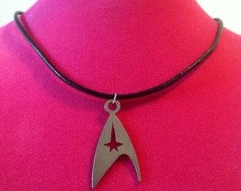 Stainless Steel Star Trek Necklace