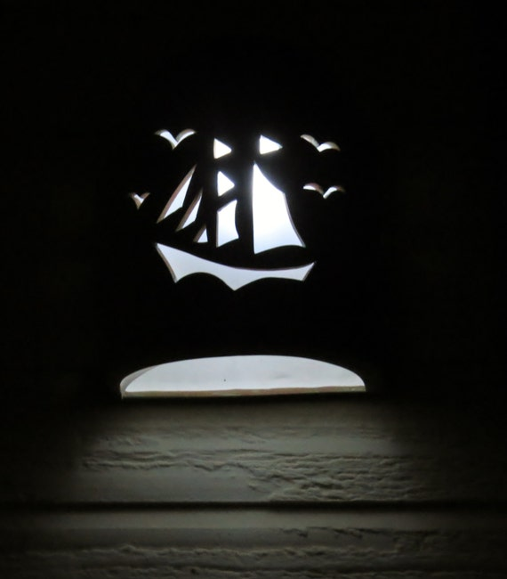 Wall Sconce Sail Boat Nautical Lighting interior lighting