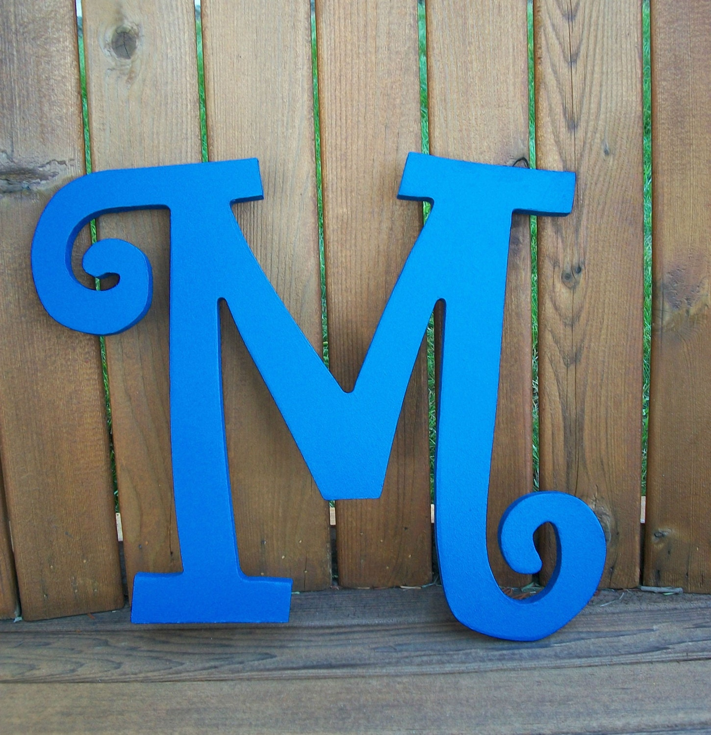 handpainted wooden wall letters wooden wall initials