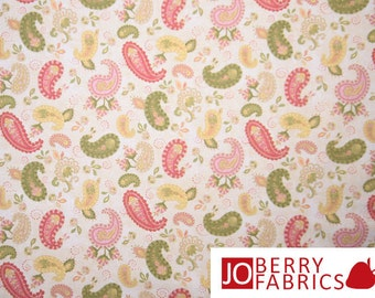 Paisley Victorian Elegance Fabric