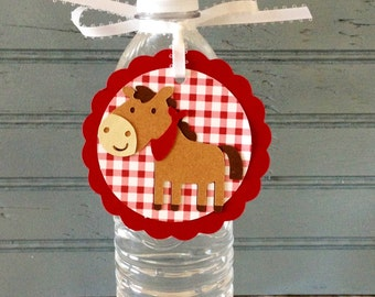 Farm Animals Treat Tags (set of 12)