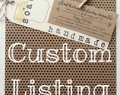 Custom Listing Faby