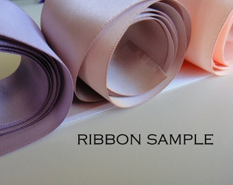 Ribbon Samples, Champagne Bridal Sash, Champagne Bridal Belt Sample