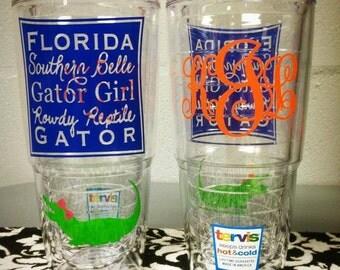 Southern Belle Gator Girl 24 oz. Tervis Tumbler