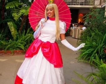 Princess Peach- Toadstool Mario Brothers -Bros Costume - Full Costume or Pattern- princess Daisy - cosplay