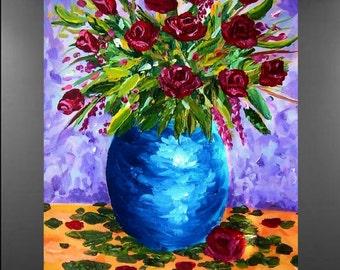 An Elegant Bouquet Original Painting