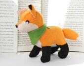 Pattern: Felt Fox Plush