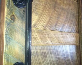 Black Pipe door pull