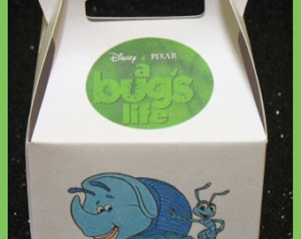 Dims favor box, Disney Dims Birthday favor box, A bugs life gift favor box, Dims party favor box