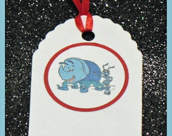 Dims gift tag, Disney Dims birthday tag, Dims party tag, set of 10