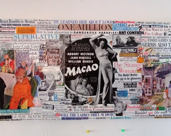Ladies & Gentlemen - Vintage Post Magazine Collage